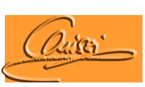 Autogramm gelb Kontour