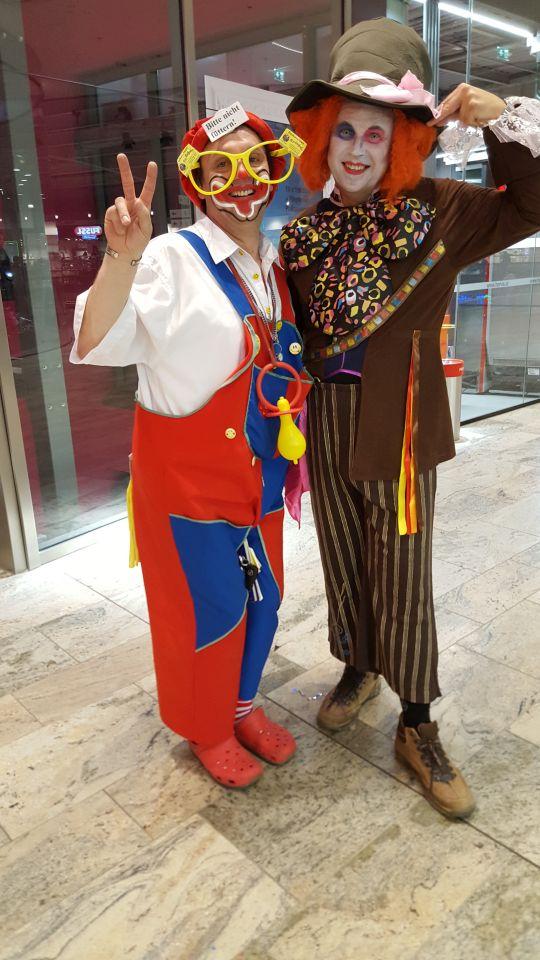 Weberzeile Fasching 2017 Clown
