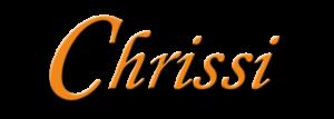 Chrissi Logo Schriftzug 600 px
