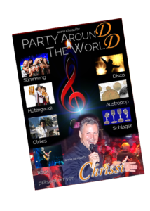 Party around the world Webseite Intro